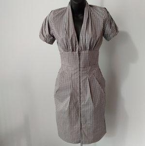 BCBG MaxAzaria Gingham Dress
